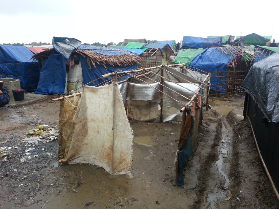 """On the outskirts of Sittwe are squalid and heavily guarded """"IDP"""" concentration camps."""