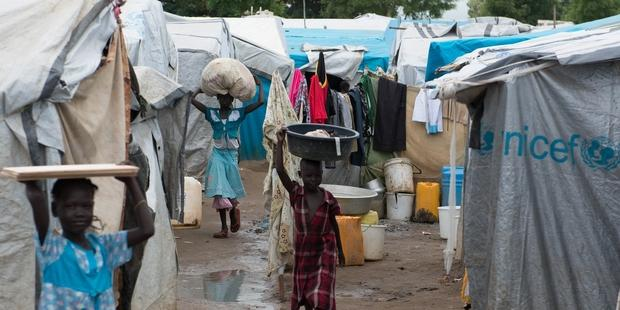 Many people in South Sudan have fled their homes in fear and are now seeking refuge at United Nations compounds.