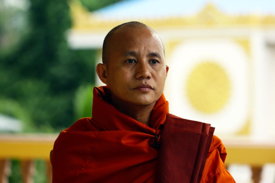 Buddhist monk Ashin Wirathu (Htoo Tay Zar/GlobalPost)