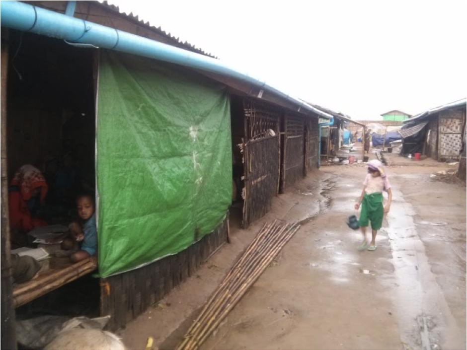 """photo: Abishek Bhatnagar, """"IDP Camp"""""""