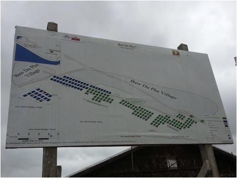 "photo: Chris Tuckwood, ""Map of Rohingya IDP camp"""