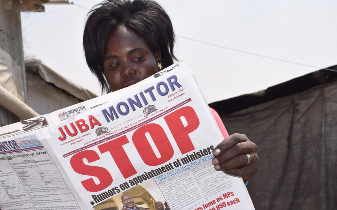 Managing Misinformation to Build Peace in South Sudan