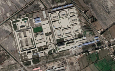Satellite imagery analysis shows extent of detention centre expansion and security